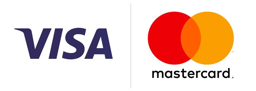 Pago seguro Visa y Mastercard